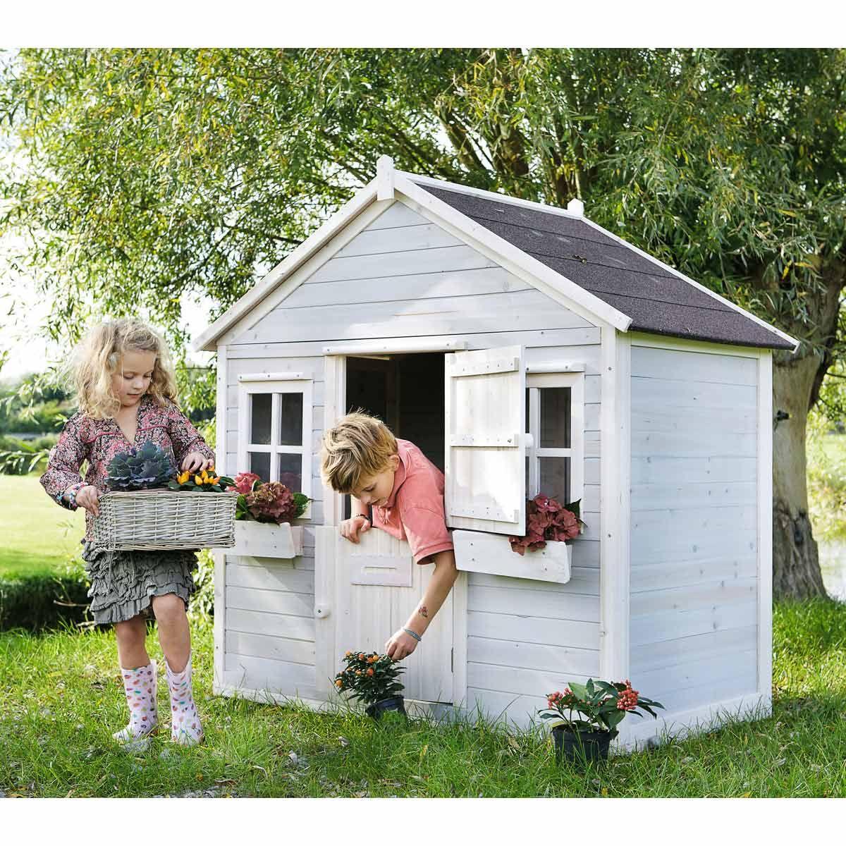 Décoration De Jardin | Cabane Jardin Enfant, Cabane Jardin ... dedans Abri Jardin Enfant
