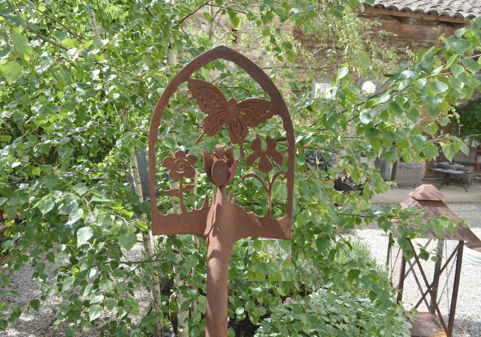 Decoration En Fer Forge Deco De Jardin Deco | D 233 Coration ... tout Fer Forgé Jardin Décoration