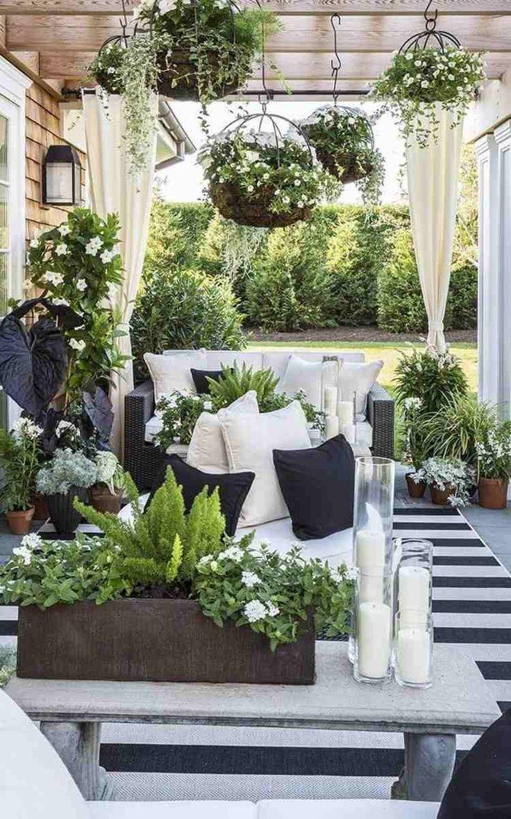 Décoration #jardinière #extérieure #salon #jardin #moderne ... à Deco De Jardin Moderne
