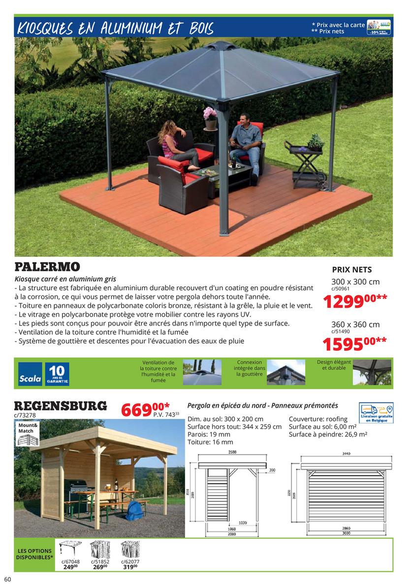 Déma - Jardin 2018 - Page 60-61 - Created With Publitas destiné Kiosque Aluminium Jardin