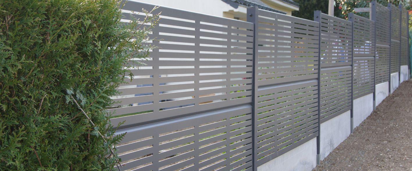 Des Clôtures De Jardin Design Pour Délimiter Avec Style ... destiné Clotures Jardin Design