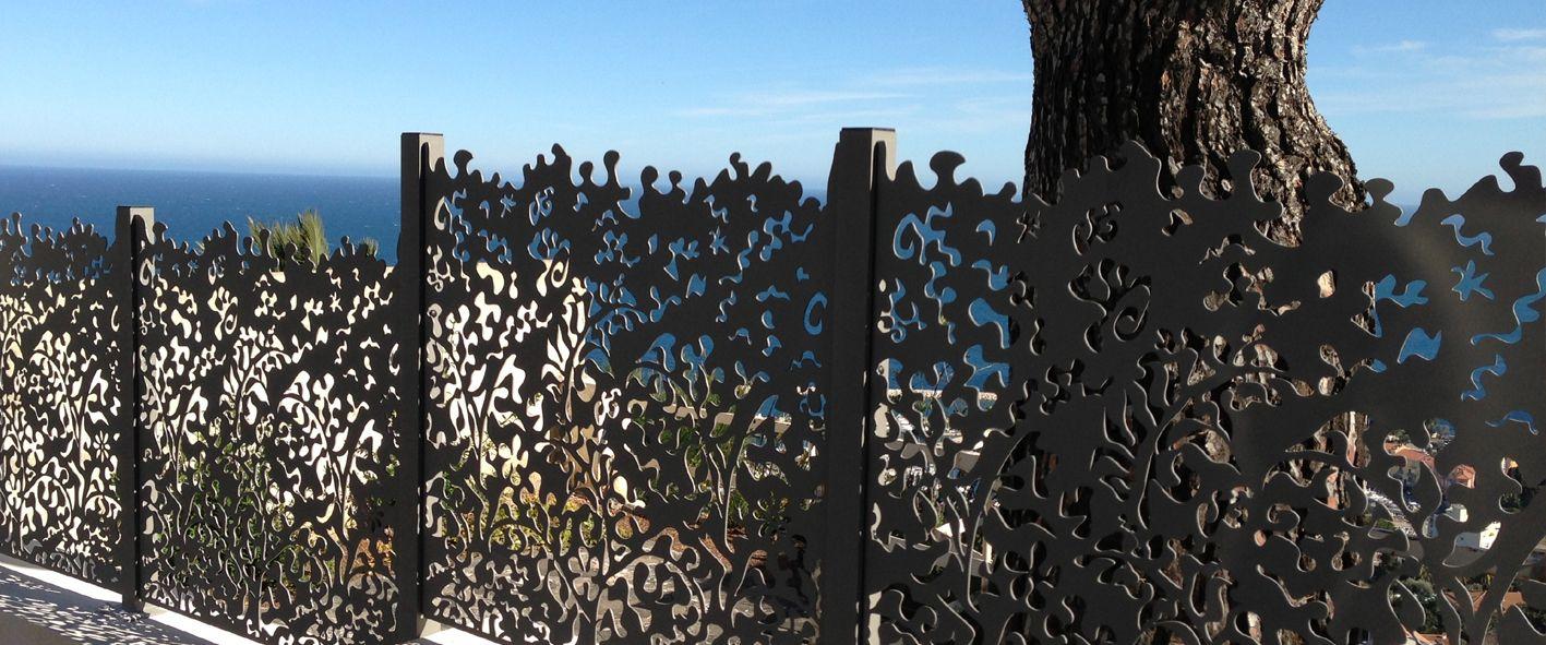 Des Clôtures De Jardin Design Pour Délimiter Avec Style ... pour Clotures Jardin Design