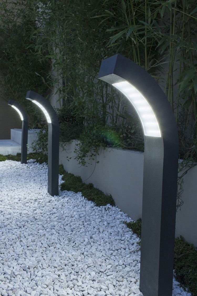 Des Lampes Pour Un Chemin | Éclairage Extérieur, Eclairage ... serapportantà Lampe Pour Jardin Exterieur