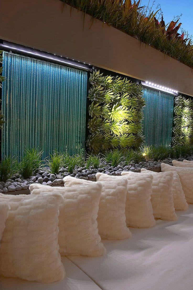 Des Murs D'eau Pour Un Extérieur Exceptionnel - Floriane ... avec Mur D Eau Jardin