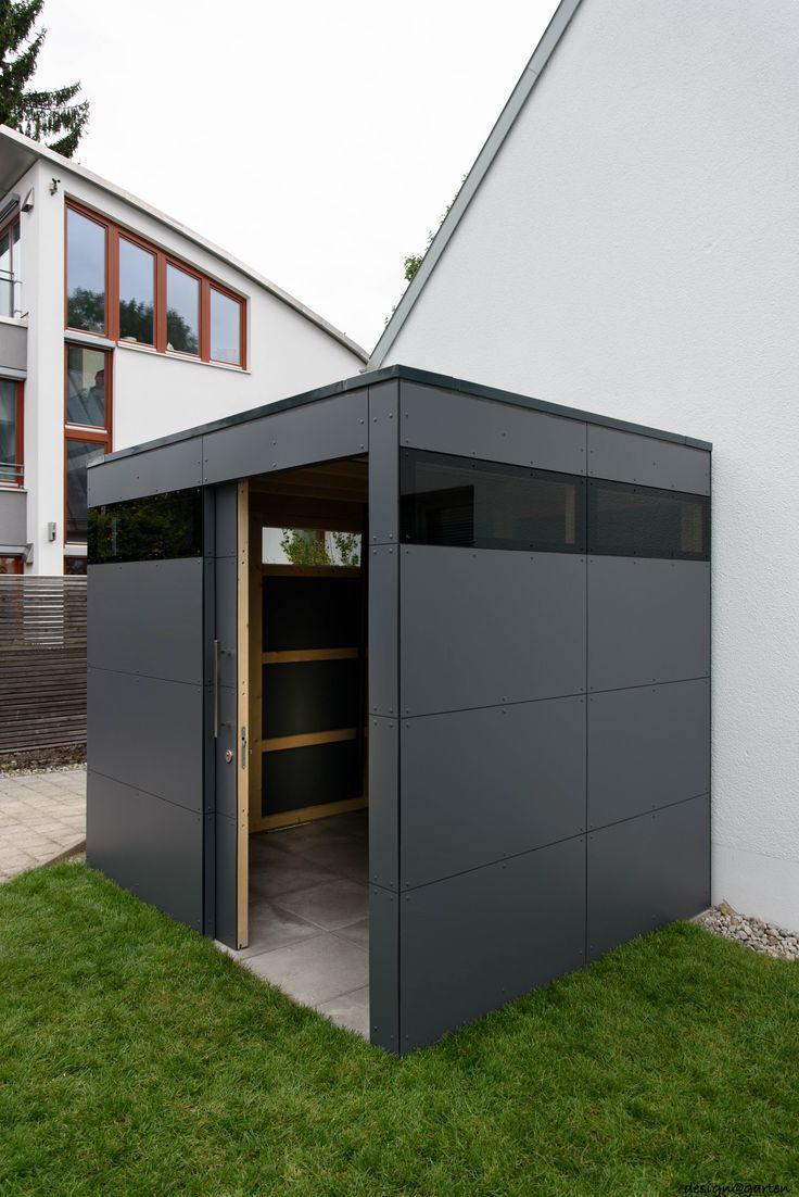 Designer Garden House @_Gart In München Von Design @ Garden ... destiné Abri Jardin Contemporain