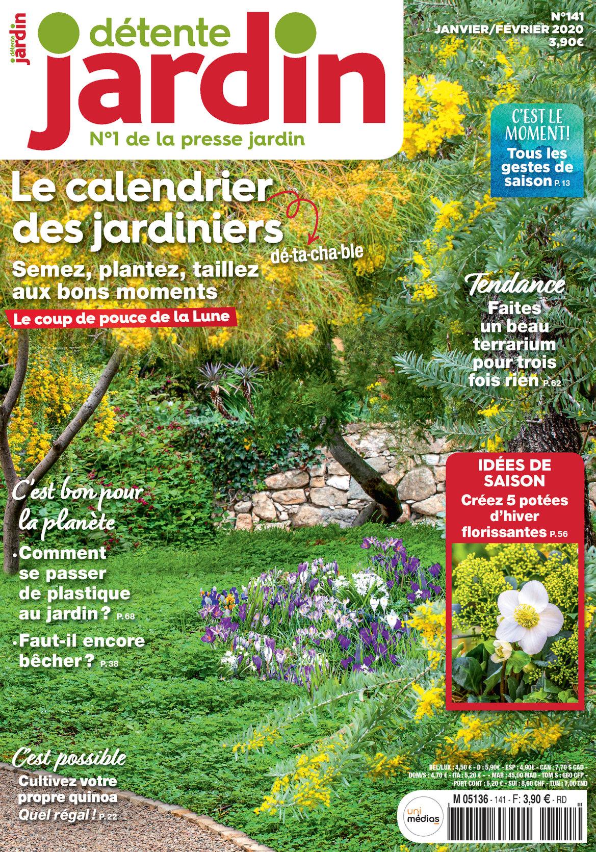 Détente Jardin N° 141 concernant Abonnement Détente Jardin