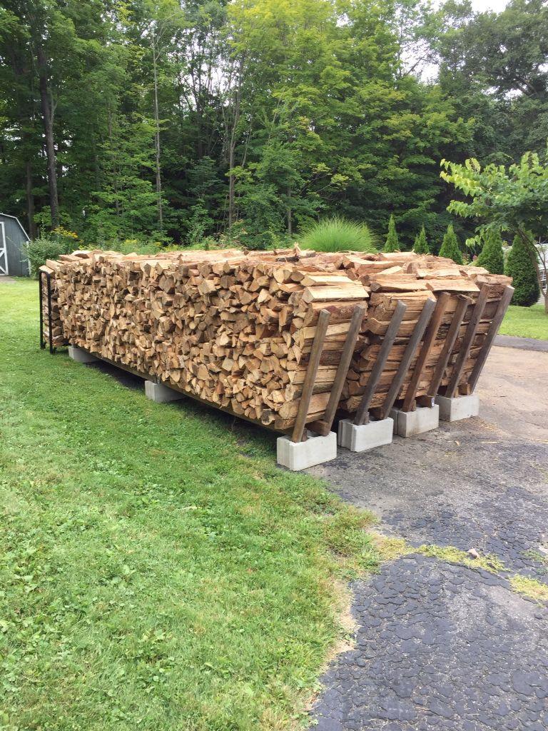 Diy Firewood Rack Ideas Will Help You To Keep The Piles Of ... intérieur Hangar Jardin Bois