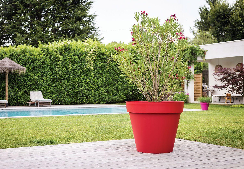 Donnez Une Touche D'élégance À Votre Jardin Avec Nos Pot ... serapportantà Pot Rouge Jardin
