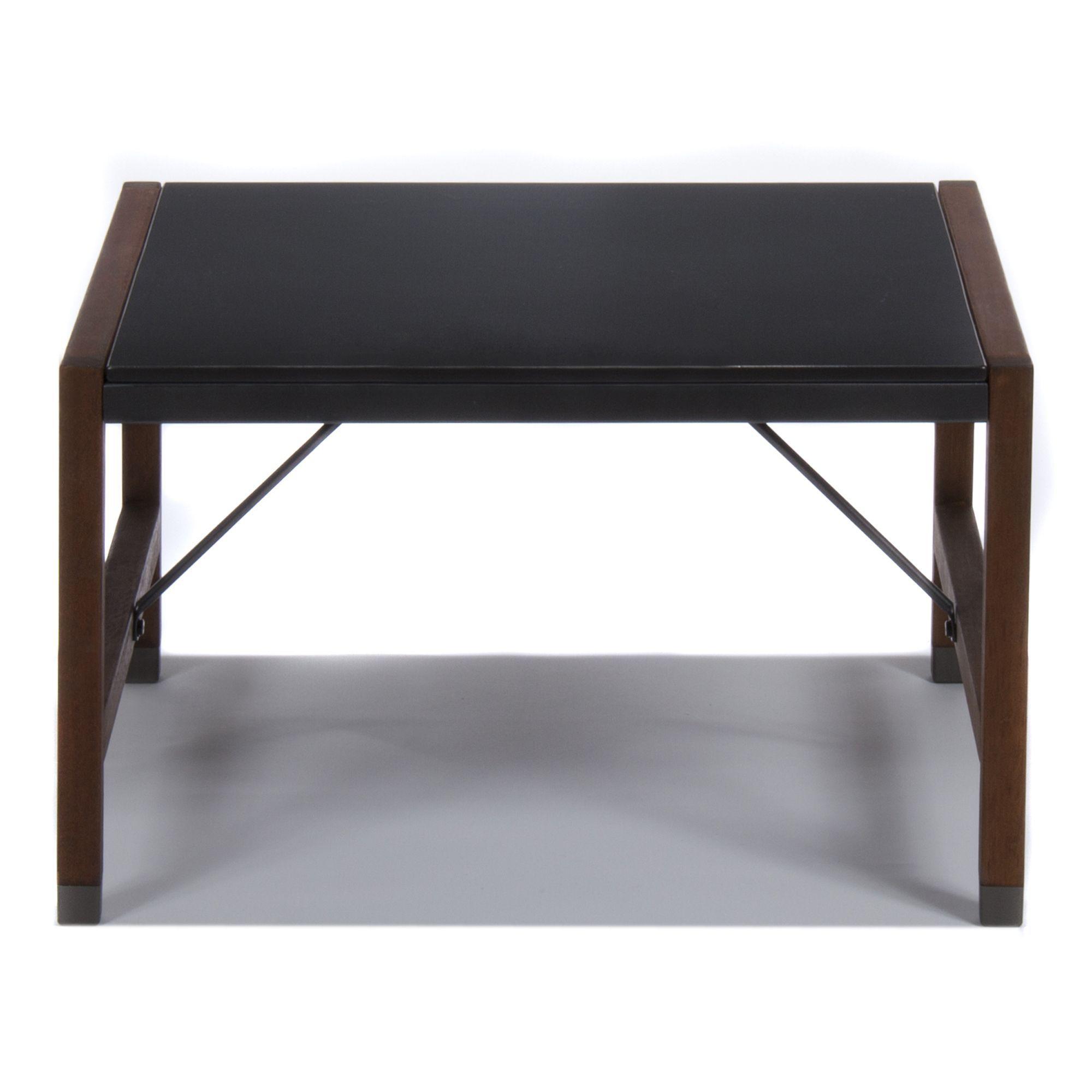 €99 Alinea 70X70Xh42 Fibrociment Table Basse De Jardin Rétro ... à Table Basse Alinea