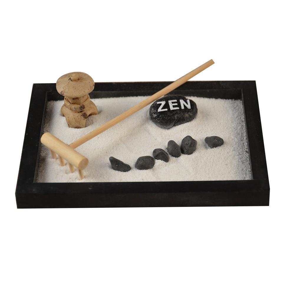 Elaborately Statue Buddha Zen Garden Sand Meditation ... avec Decor Jardin Zen