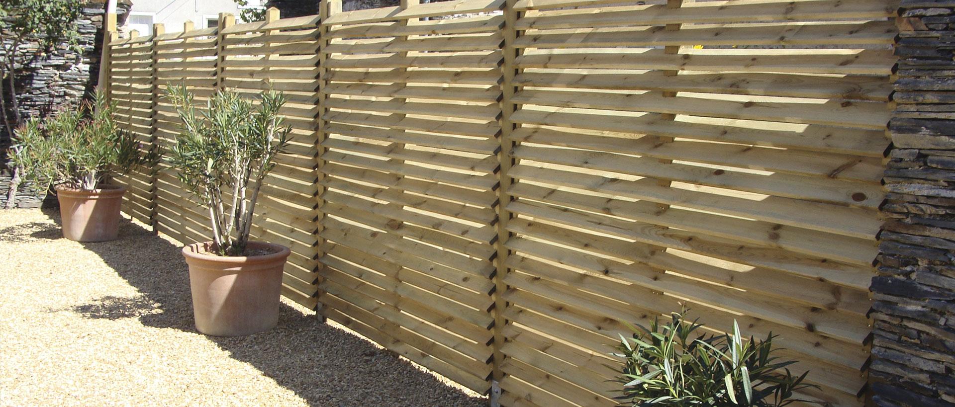 Éliminer Le Vis-À-Vis Dans Votre Jardin - Les Vrais Moments destiné Claustra Pour Jardin