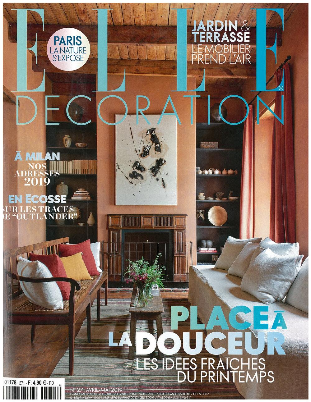 Elle Décoration - April/may 2019 — Cogolin pour Deco Design Jardin Terrasse