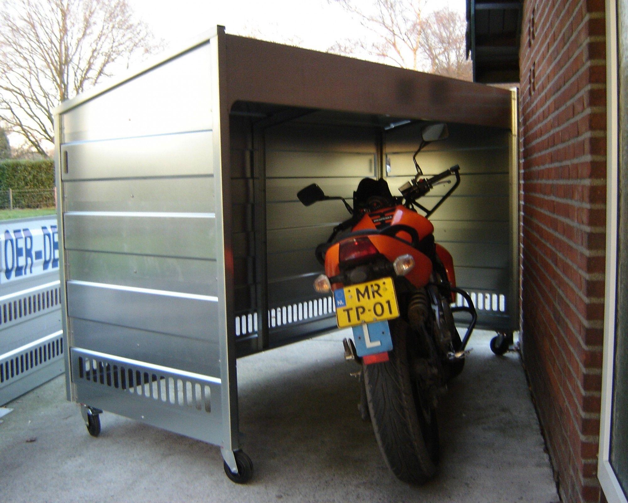 Épinglé Sur Motorcycle destiné Abri Moto