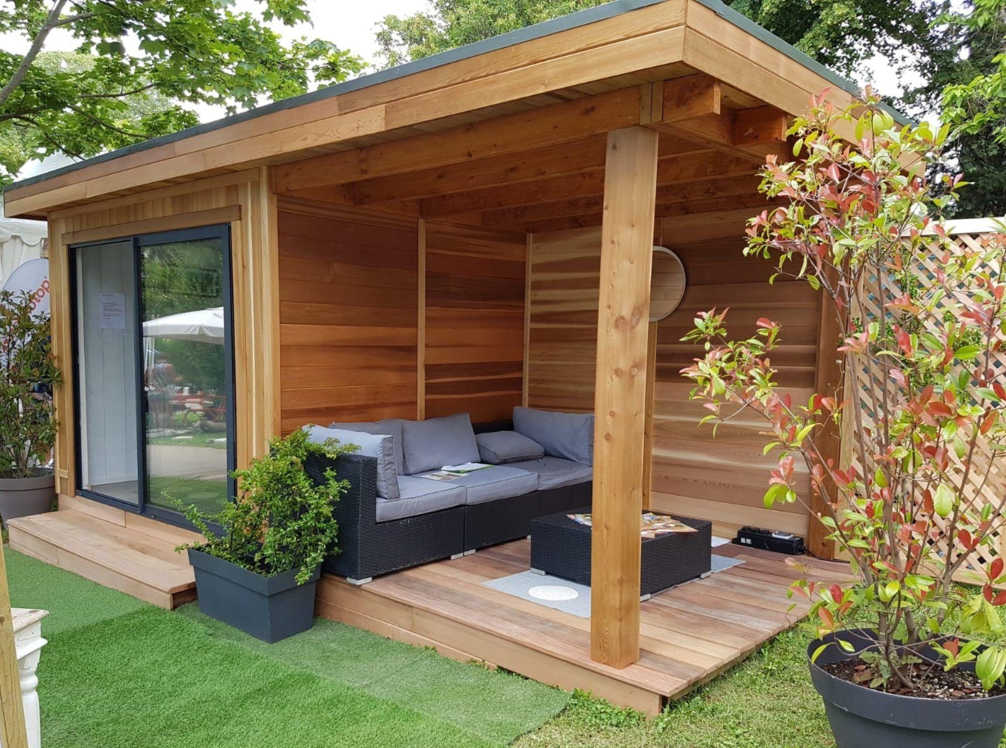 Espace Habitable, Studio De Jardin, Extension, Bureau De ... encequiconcerne Studio Jardin Habitable
