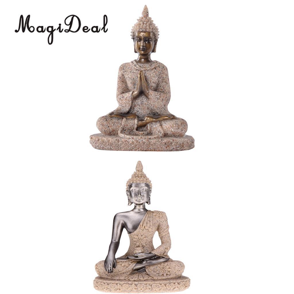Estatuas Decoración Del Hogar Buda Candelabro Meditando ... intérieur Decor Jardin Zen