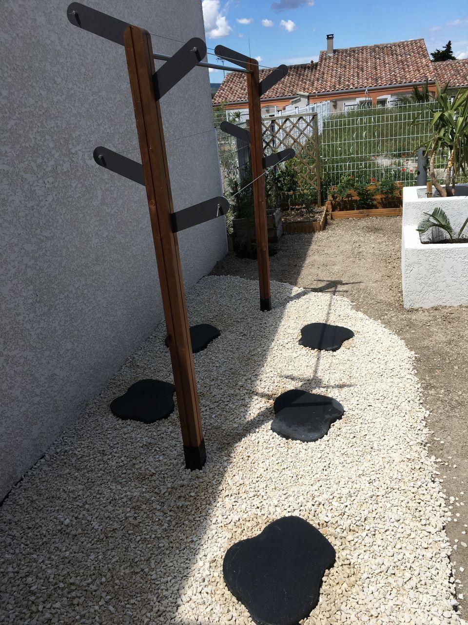 Étendoir À Linge Kaktus   Étendoir À Linge, Jardin Exterieur ... avec Etendoir À Linge De Jardin