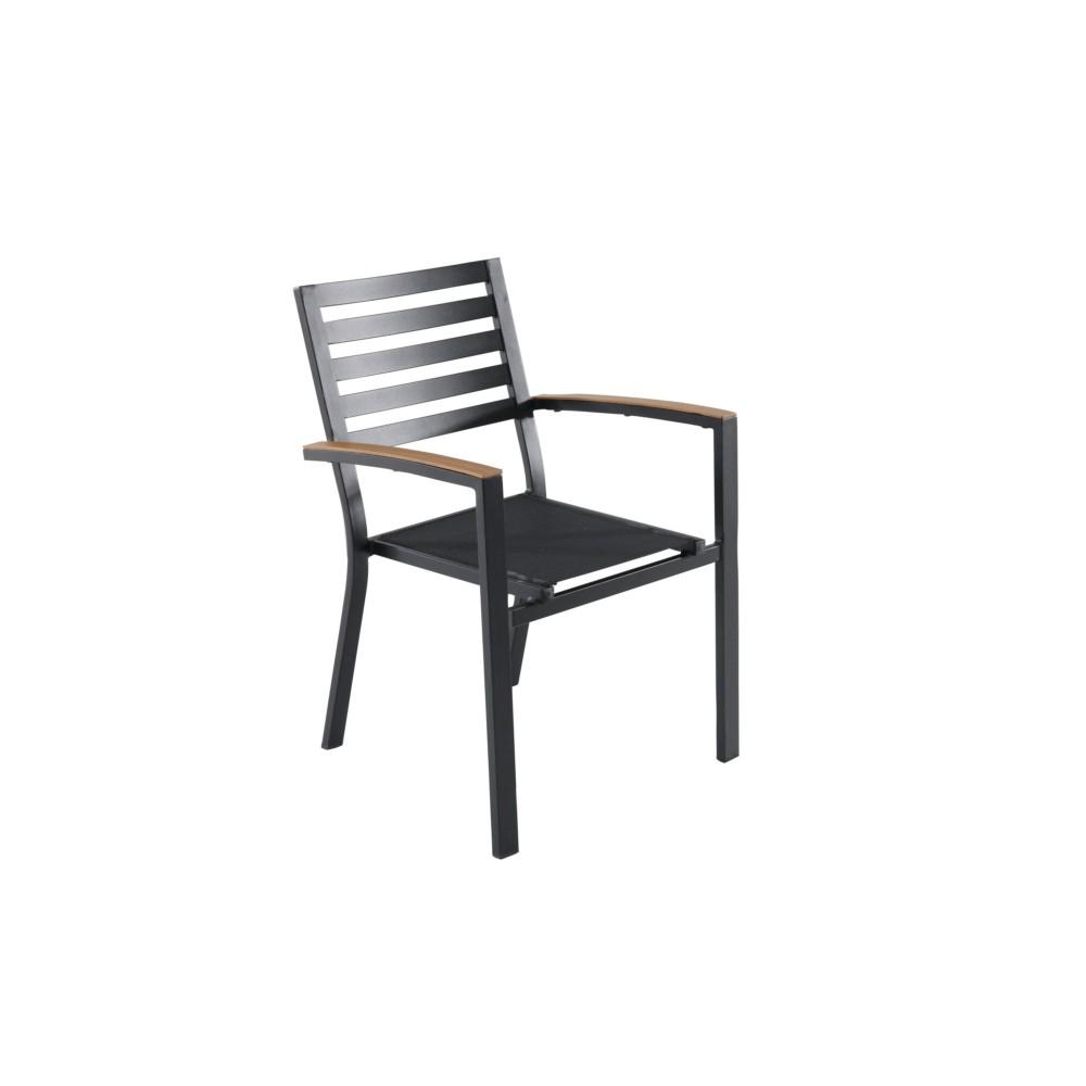Fauteuil Belize Aluminium pour Chaise De Jardin Aluminium
