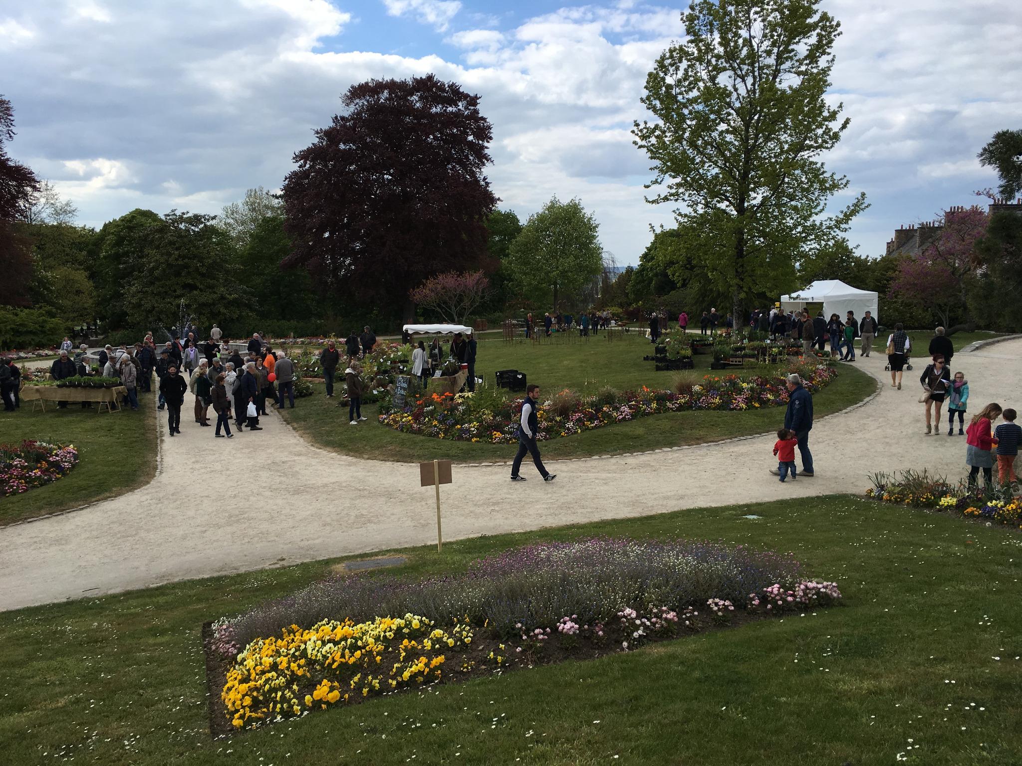 Fête Du Jardin Des Plantes À Avranches Samedi 21 Et Dimanche ... intérieur Jardin Des Plantes Avranches