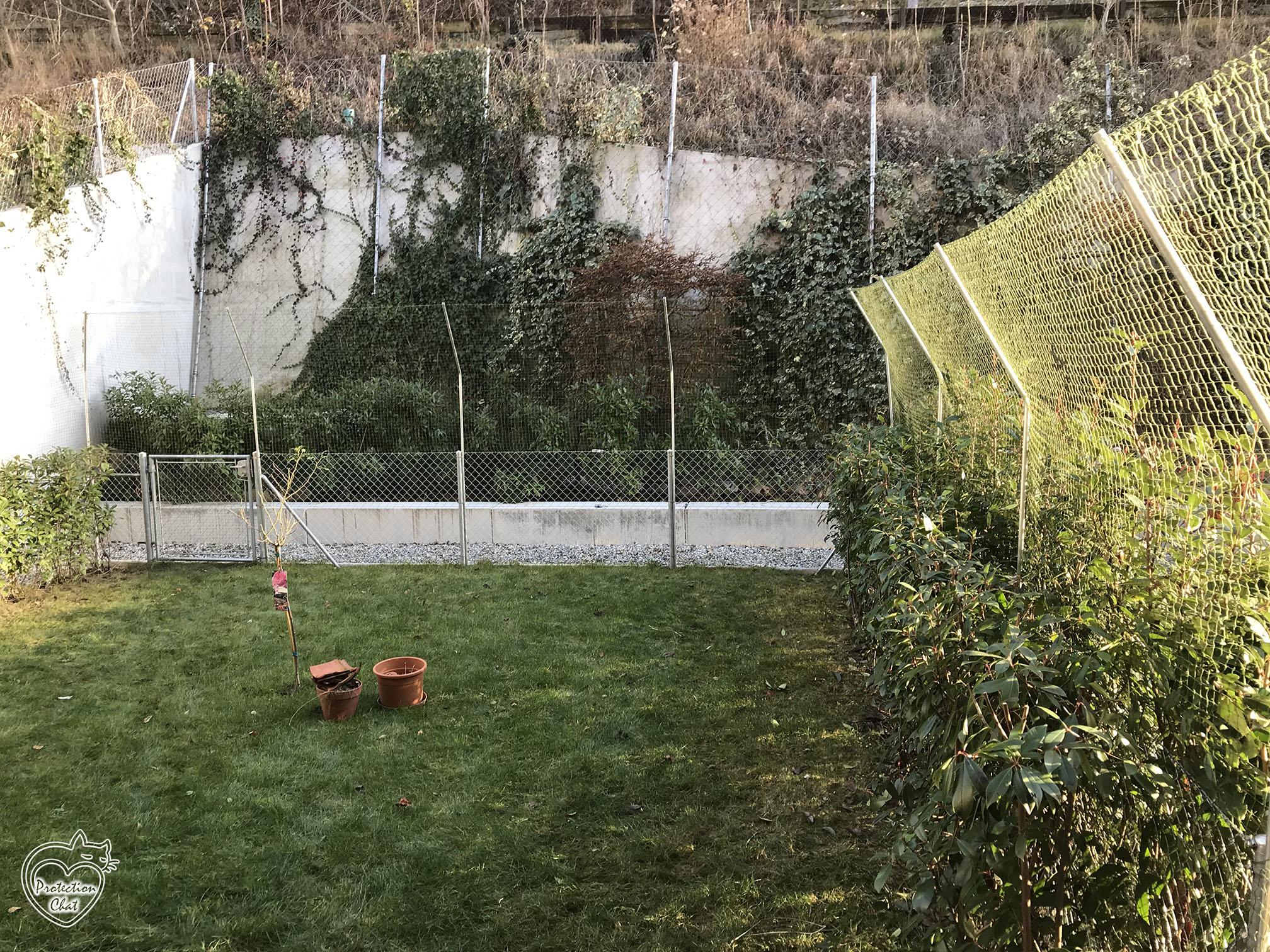 Filet De Protection Pour Chat / Jardin - Filet De Protection ... dedans Enclos Jardin