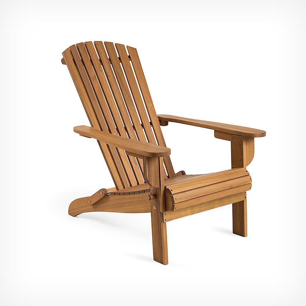 Folding Adirondack Chair | Folding Garden Chairs, Wooden ... serapportantà Fauteuil Adirondack Occasion