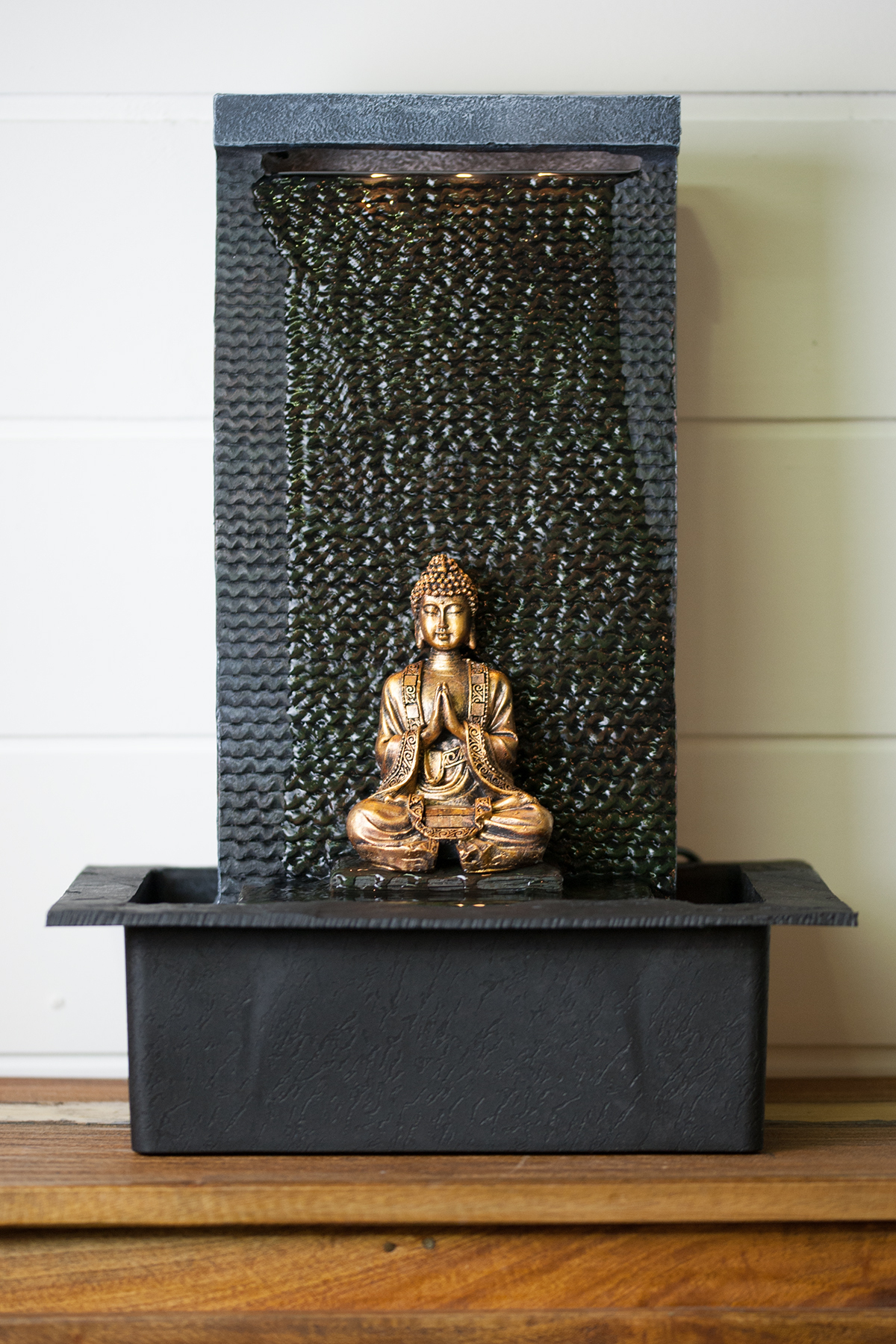 Fontaine D'Intérieur Bouddha En Méditation pour Fontaine Bouddha Interieur