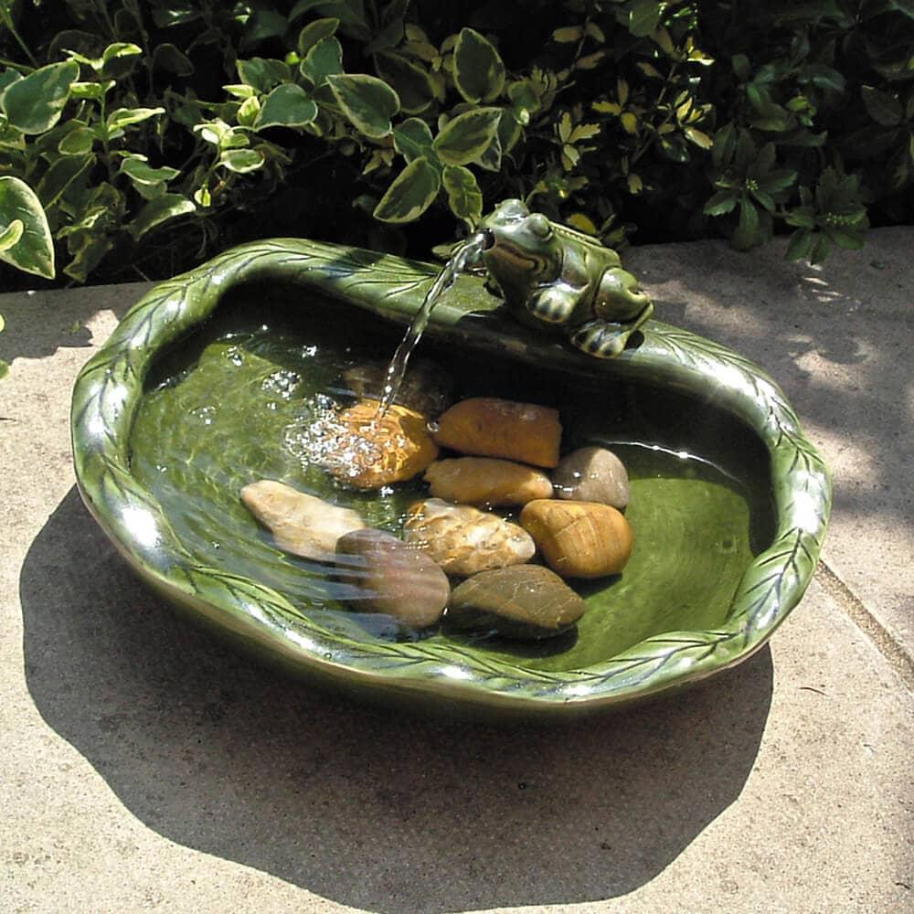 Fontaine Solaire Grenouille pour Fontaine Solaire