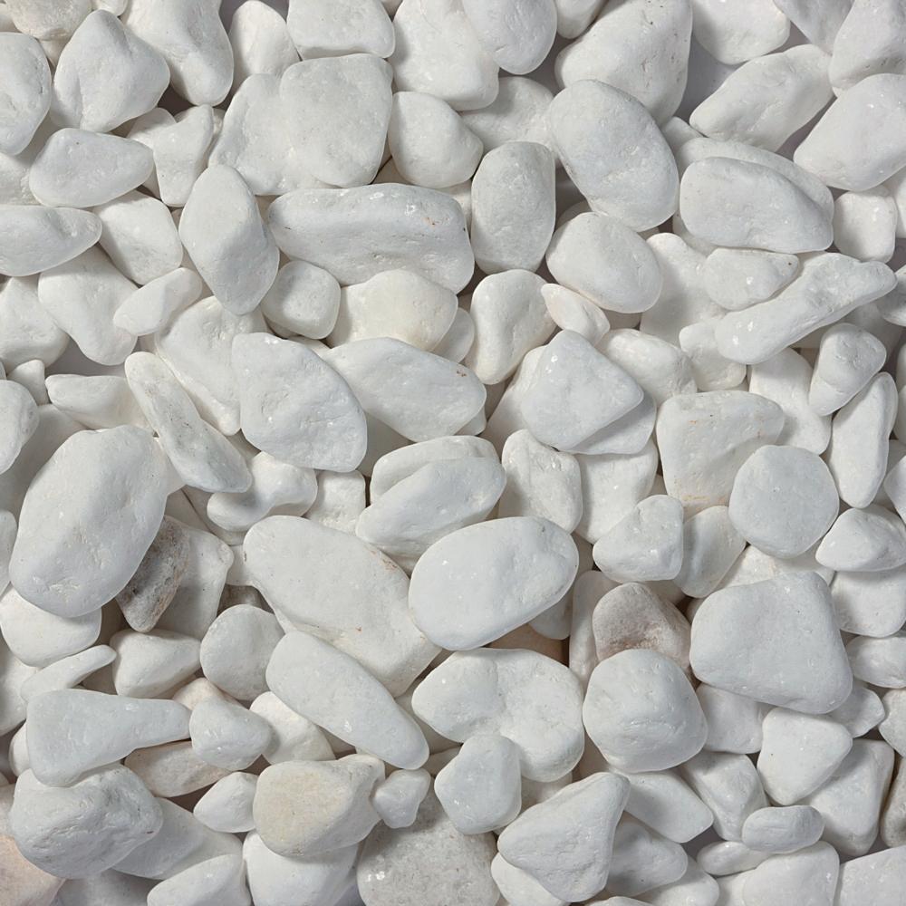 Galet Marbre Blanc à Galets Blancs Jardin
