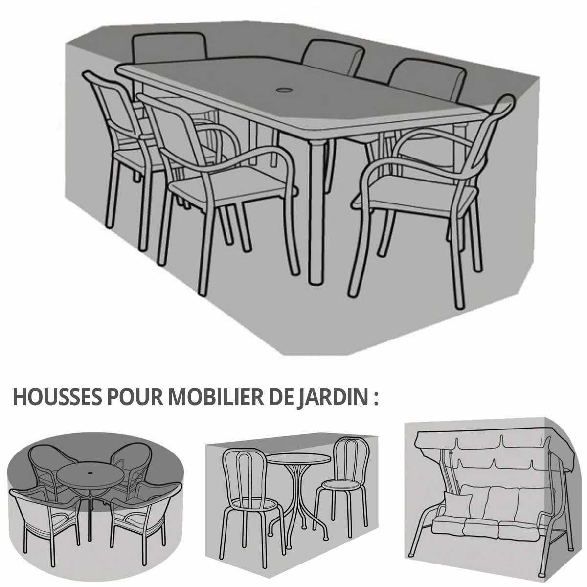Gamme Housse Bâche Protection Salon De Jardin serapportantà Housse De Meuble De Jardin