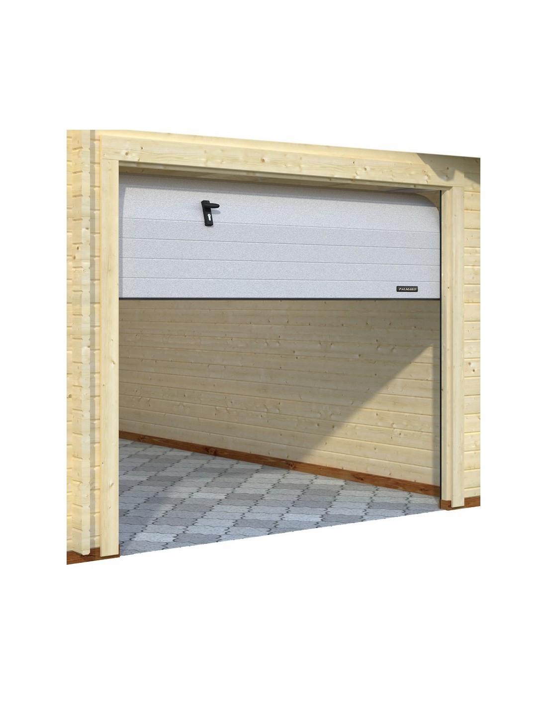 Garage Rasmus 19.8 M² En Bois Massif De 44 Mm - Serres-Et-Abris à Joint Epdm Caoutchouc Pour Serre De Jardin Acd