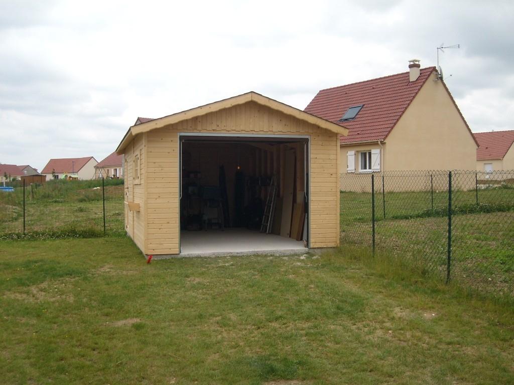 Garages Bois destiné Garage Bois Pas Cher