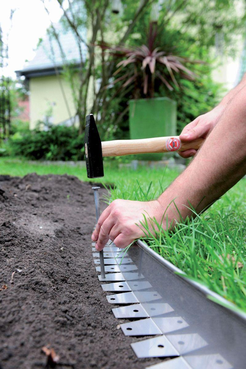 Garden Edge® ,çim, Bitki, Çakıl, Podima,malç Gibi Farklı ... à Bordure Jardin Flexible