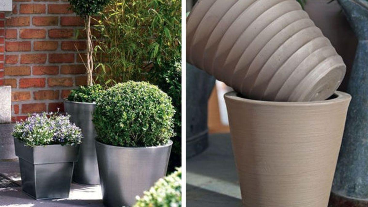 Grand Pot Pour Plante : 5 Jolis Pots Xxl Pour Un Jardin ... dedans Grand Pot Pour Jardin