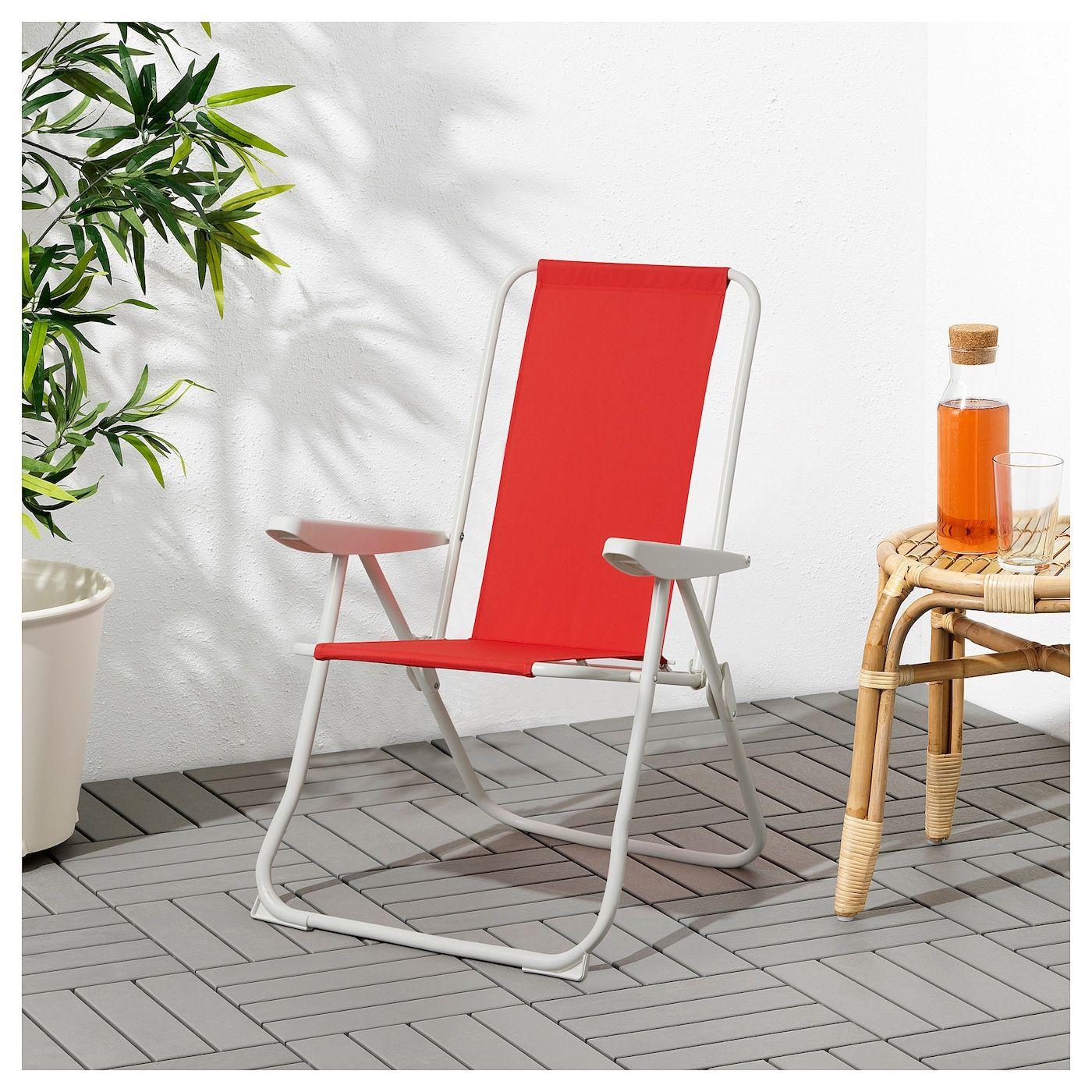 Håmö Reclining Chair - Red | Chaise Fauteuil, Fauteuil ... dedans Transat Ikea