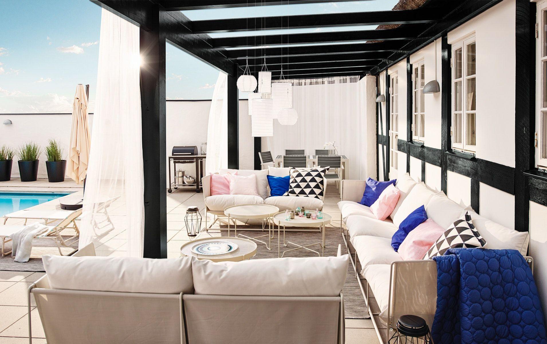 Havsten 2-Seat Sofa, In/outdoor - Beige - Ikea Switzerland ... pour Salon De Jardin Ikea