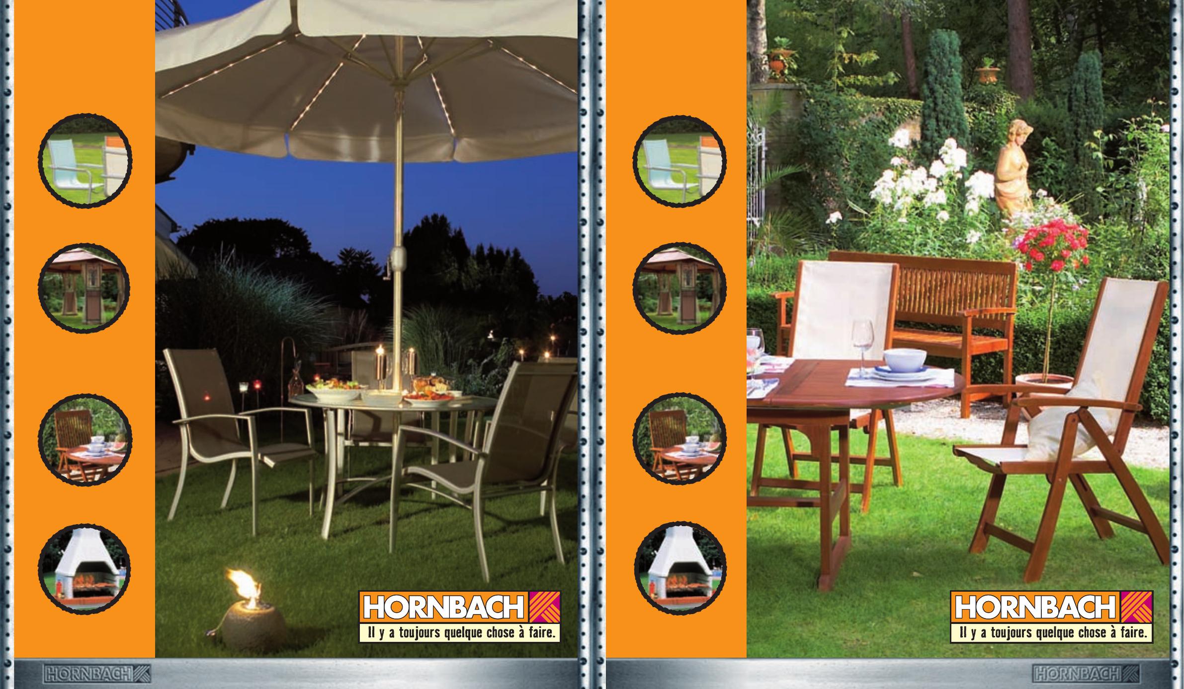 Hornbach Fr Sh2006 Meubles De Jardin - [Pdf Document] tout Hornbach Jardin