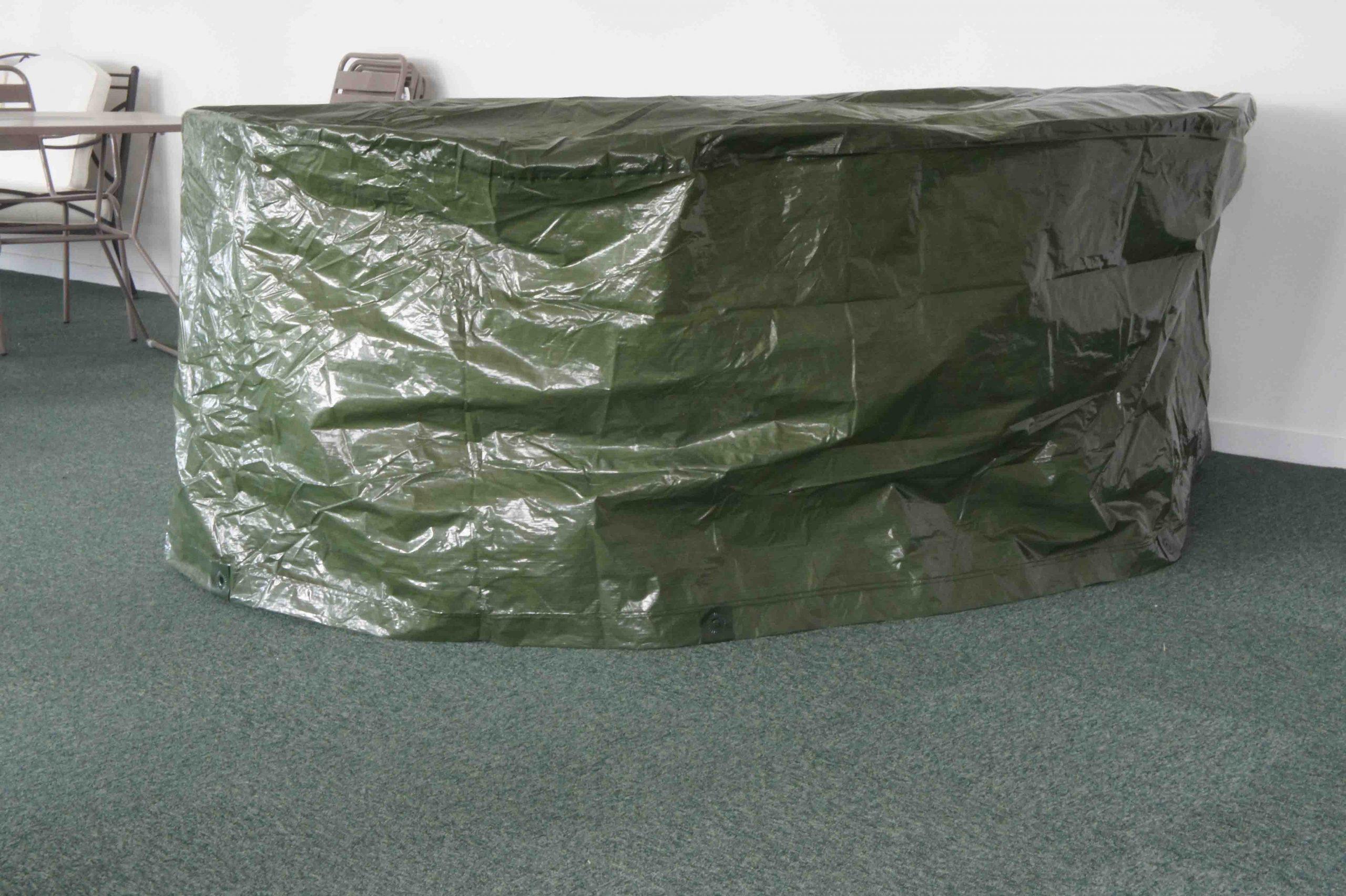 Housse De Protection Pour Grande Table Ovale + Chaises 210 X ... encequiconcerne Housse De Table De Jardin Ovale