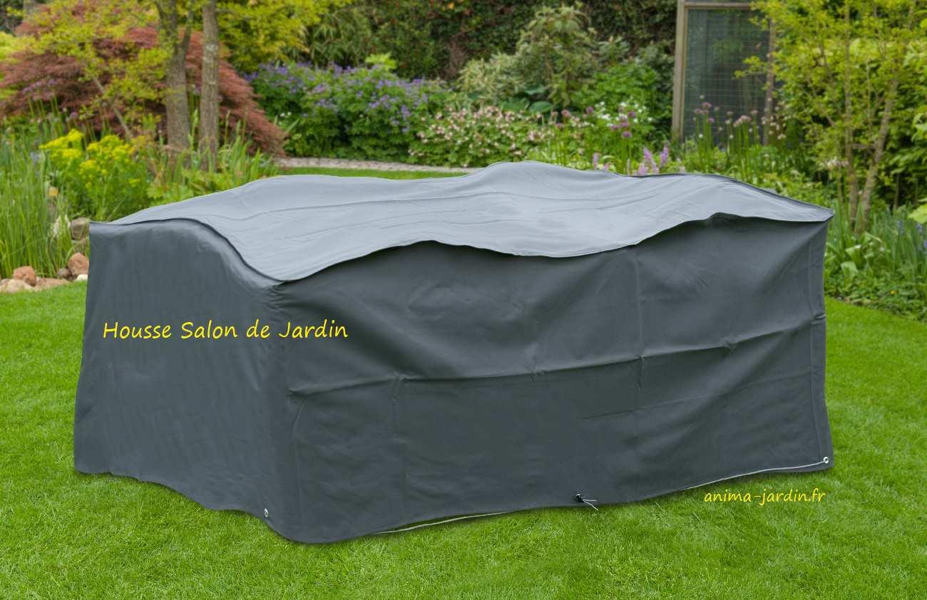 Housse De Protection Salon De Jardin, Table Rectangulaire ... dedans Housse Table Jardin Rectangulaire
