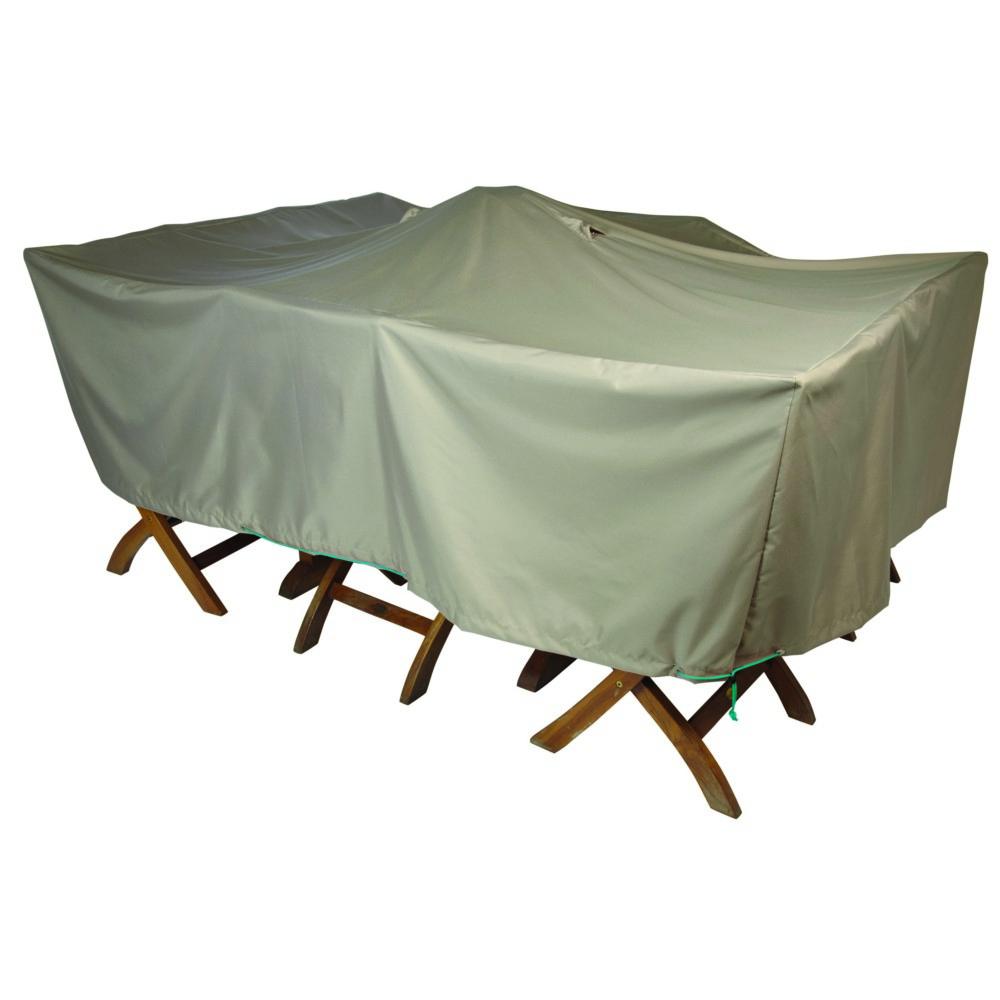 Housse De Table Rectangulaire L concernant Housse De Protection Salon De Jardin
