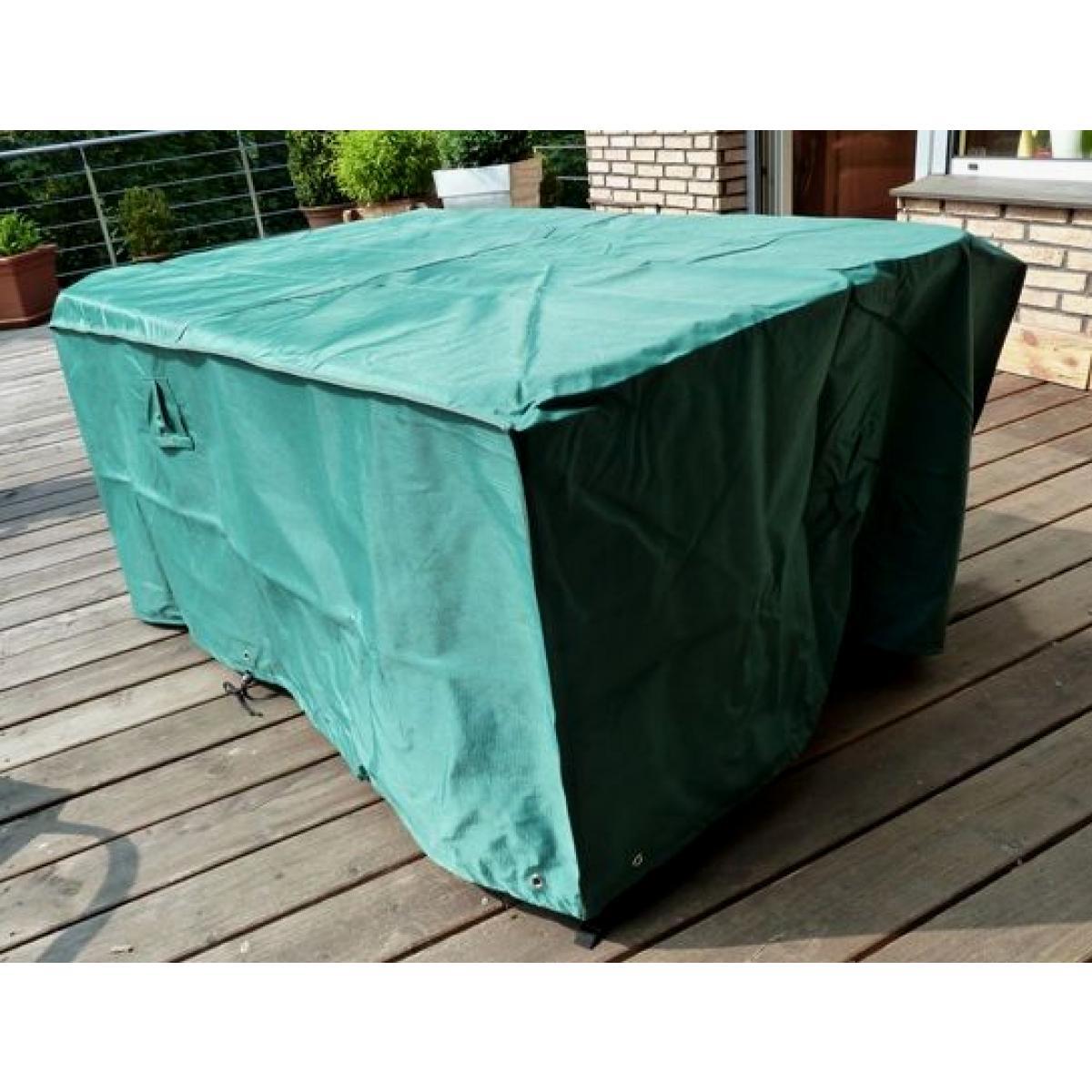 Housse Pour Table De Jardin En Matériau Résistant De Marque Hentex pour Housse De Meuble De Jardin