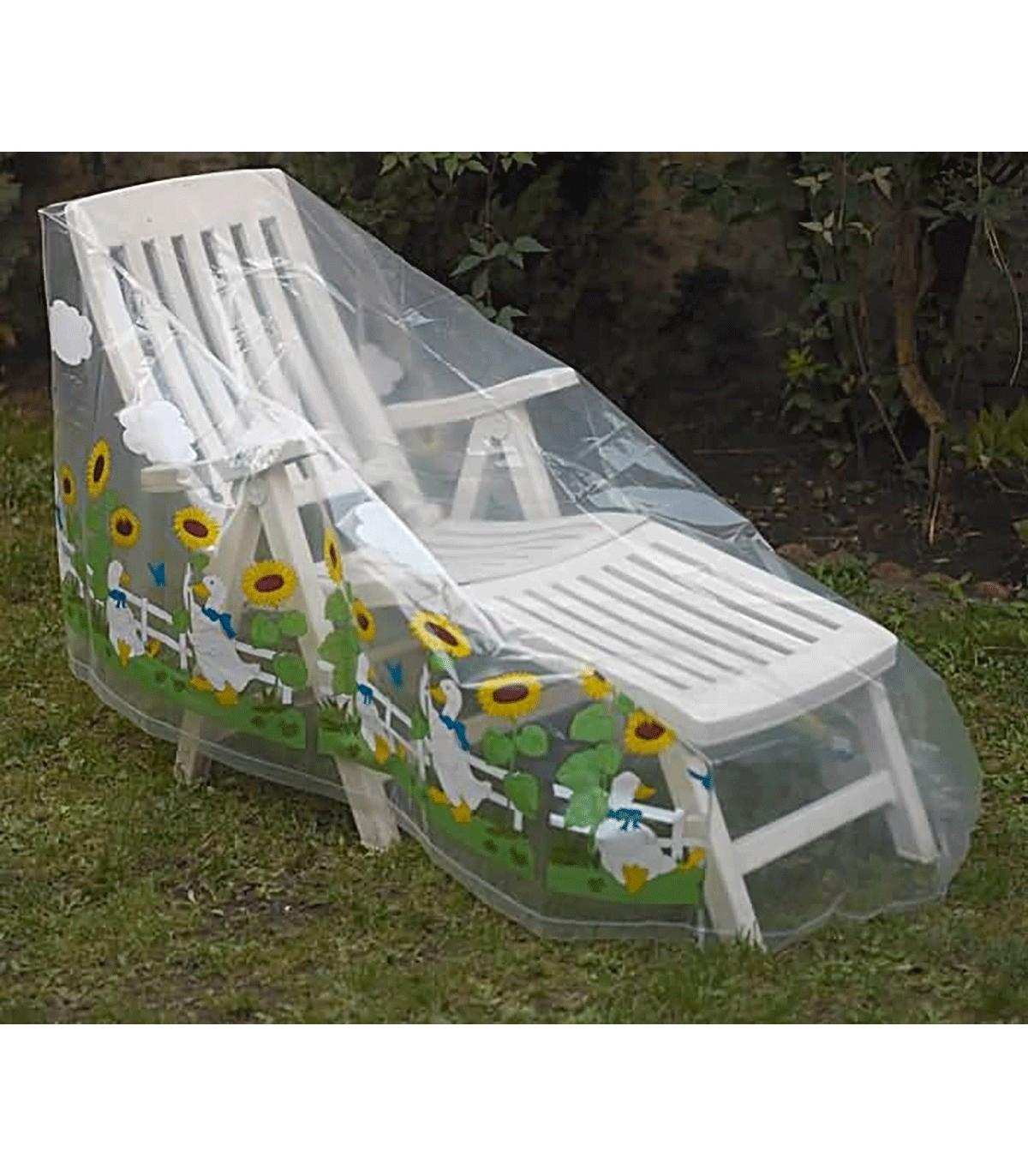 Housse Protection Chaise Longue / Transat, Accessoire Jardin concernant Housse Chaise Longue Jardin