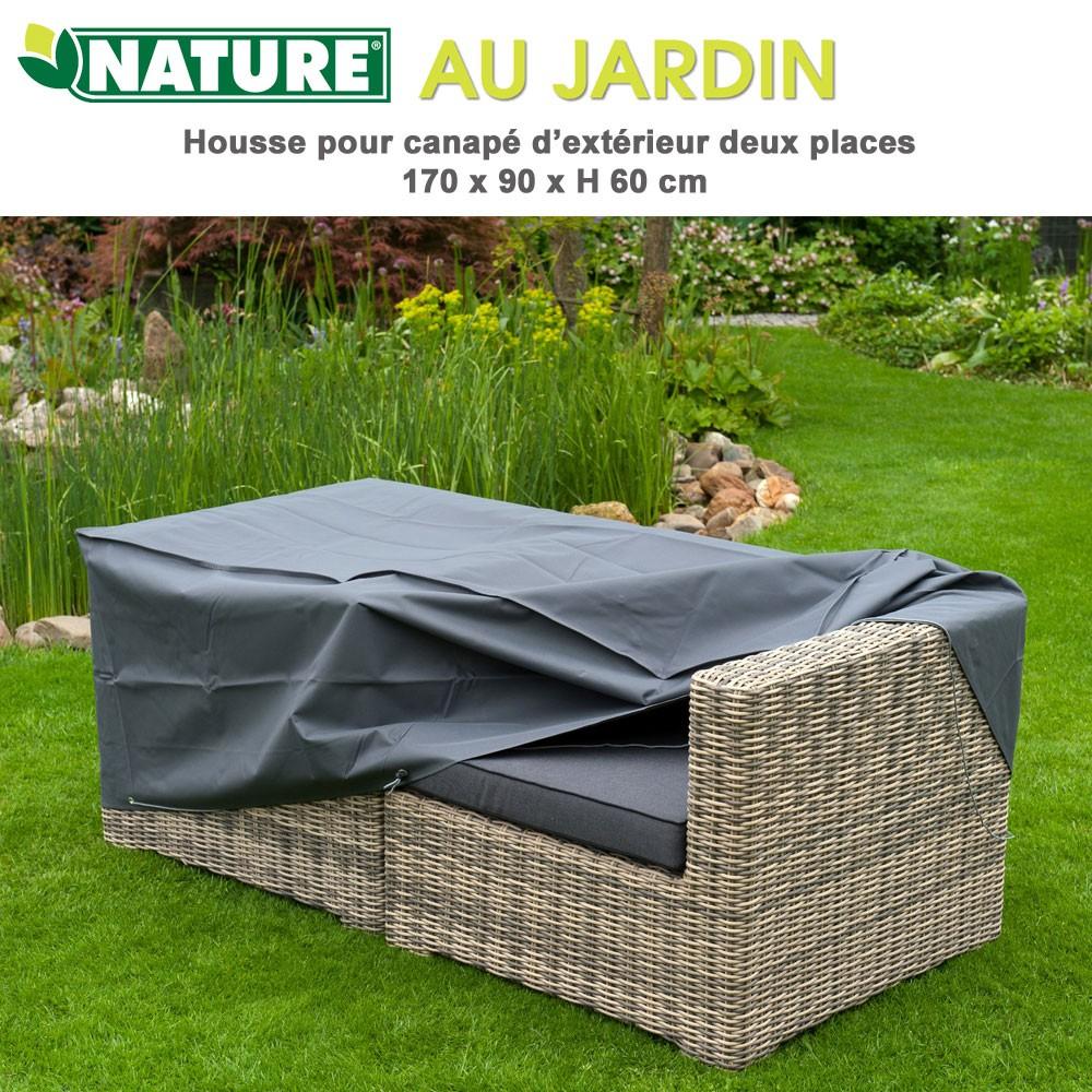 Housses De Protection : Nature tout Housse Canapé Extérieur