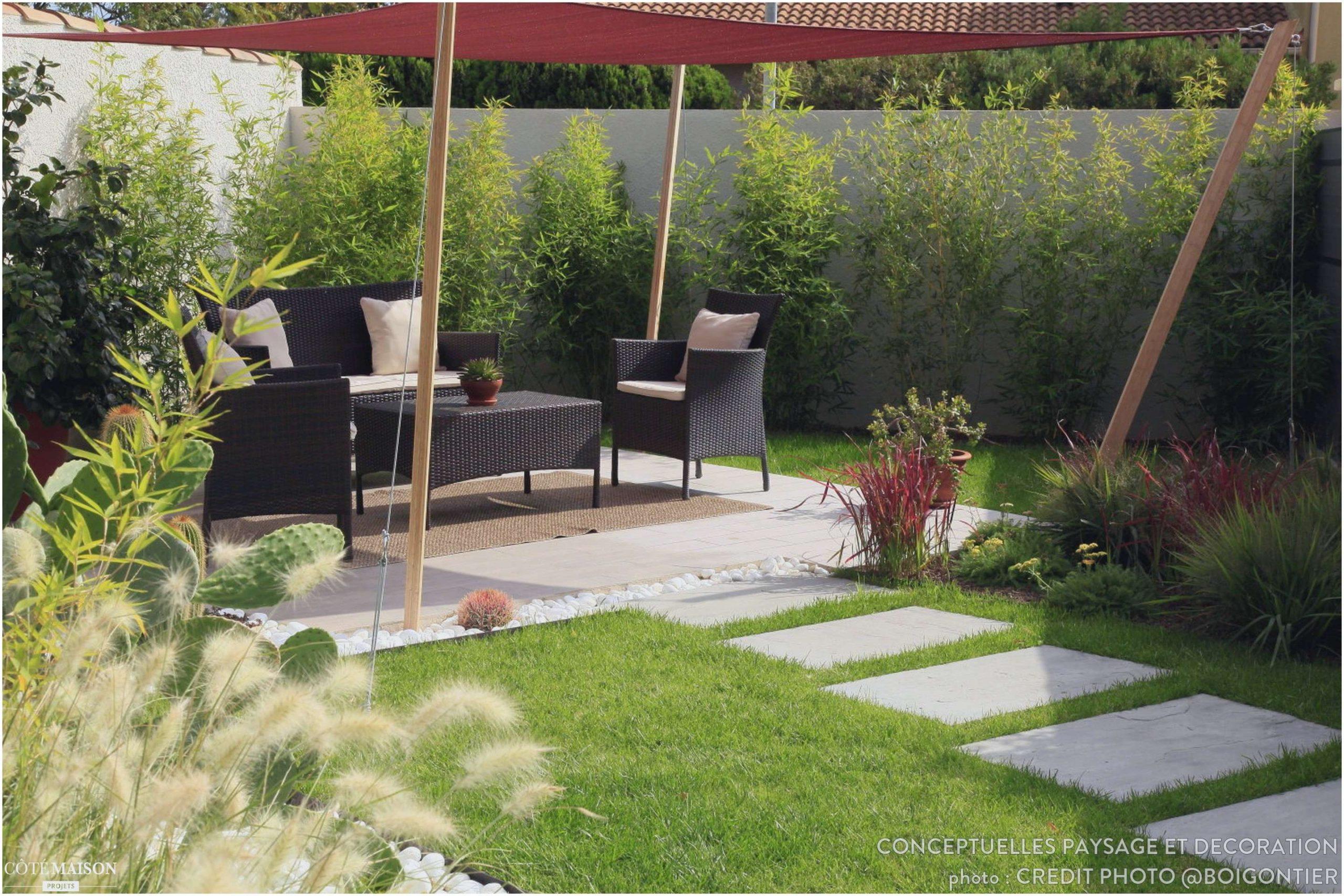 Idee Amenagement Jardin Devant Maison à Decor Jardin Zen
