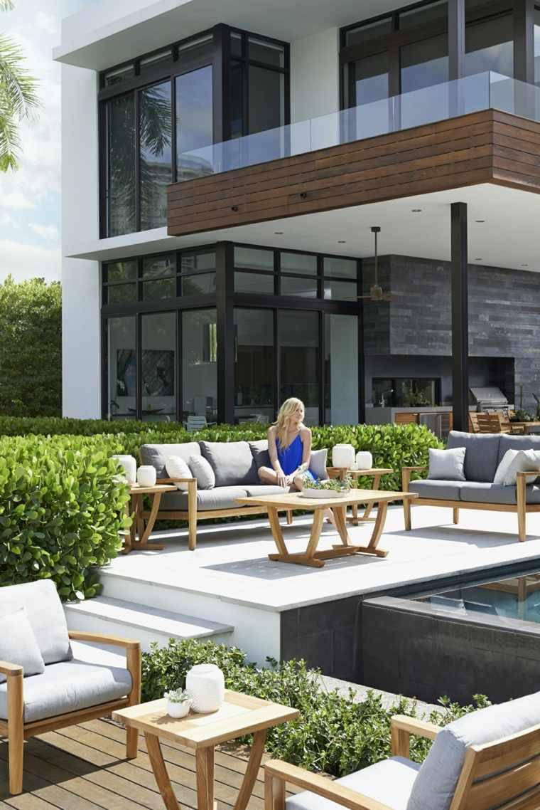 Idée Jardin Et Terrasse : Créer Un Salon De Jardin Convivial tout Deco Design Jardin Terrasse