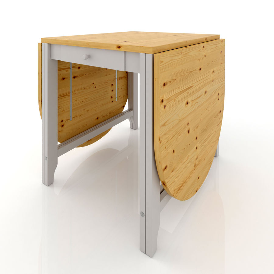 Ikea Gamlebi - Table Pliante Modèle 3D $12 - .unknown .obj ... avec Table Pliante Ikea
