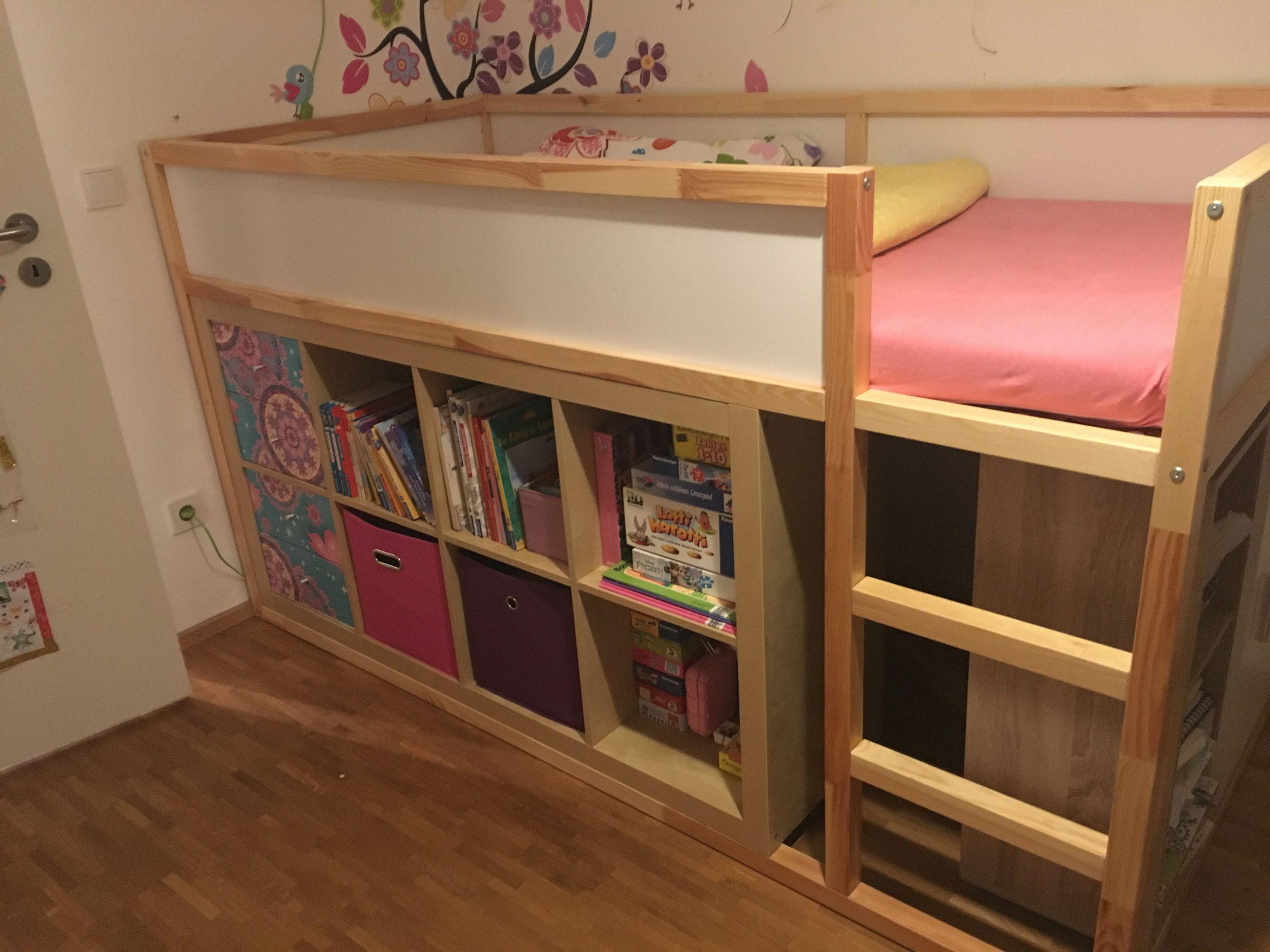 Ikea Kura Kallax Hack   Design Chambre Enfant, Ikea Chambre ... encequiconcerne Lit Cabane Ikea