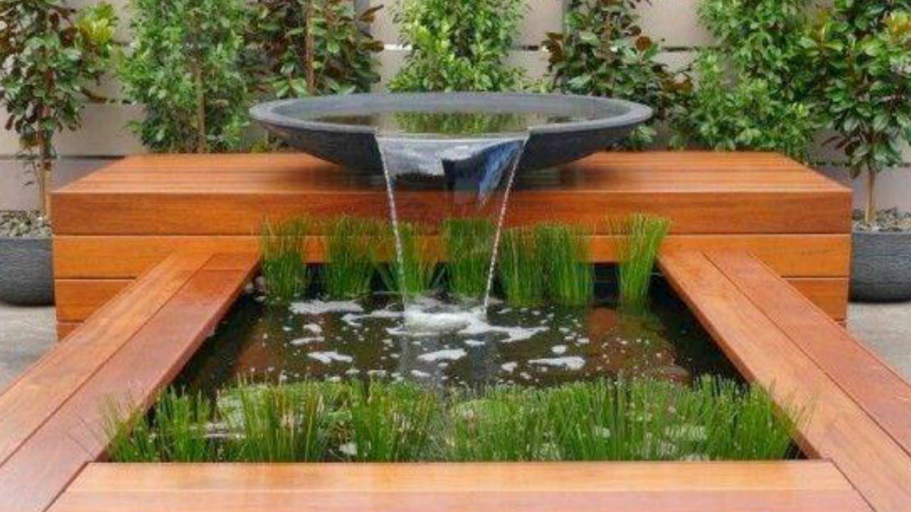 Image Associée | Decoration Jardin, Bassin Aquatique Et ... dedans Bassin De Jardin Moderne