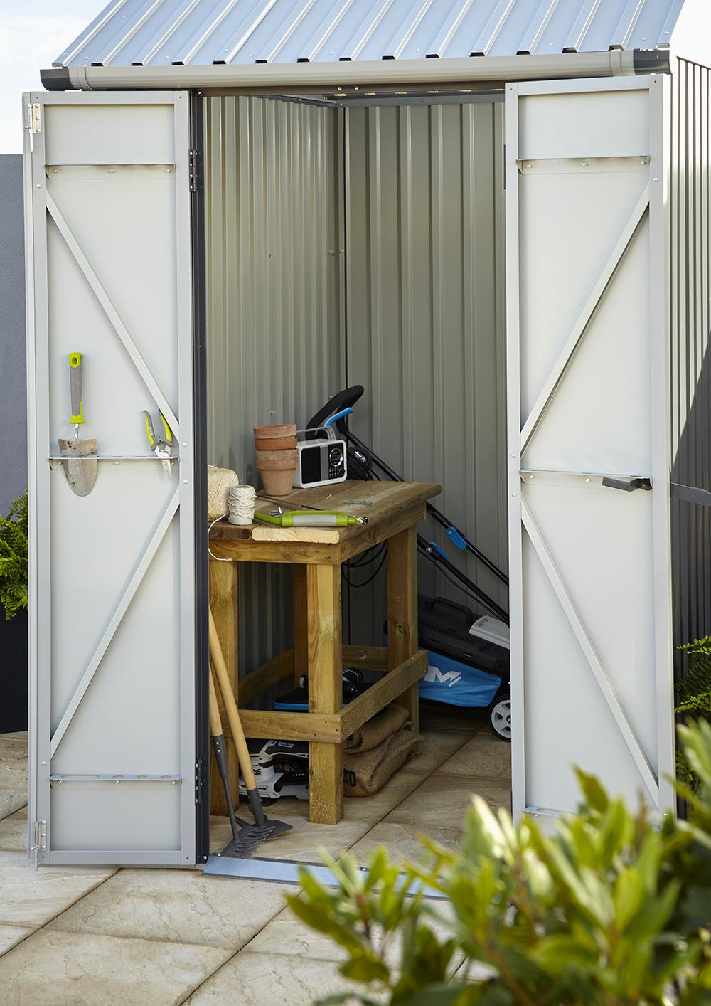 Impressionnant Abri De Jardin Boite A Outils destiné Cabane De Plage Pour Jardin