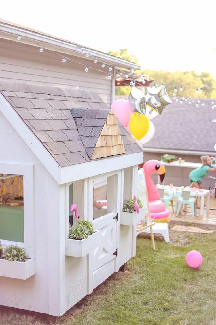 Inspiration En Images: Comment Décorer Une Cabane De Jardin ... avec Maisonnette De Jardin Enfant