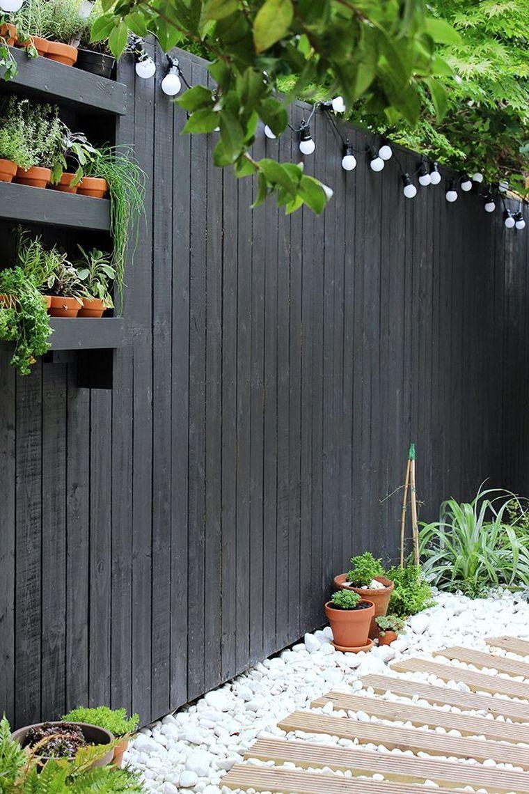 Inspirations Pinterest Déco Jardin Et Terrasse - Voici Notre ... serapportantà Clotures Jardin Design