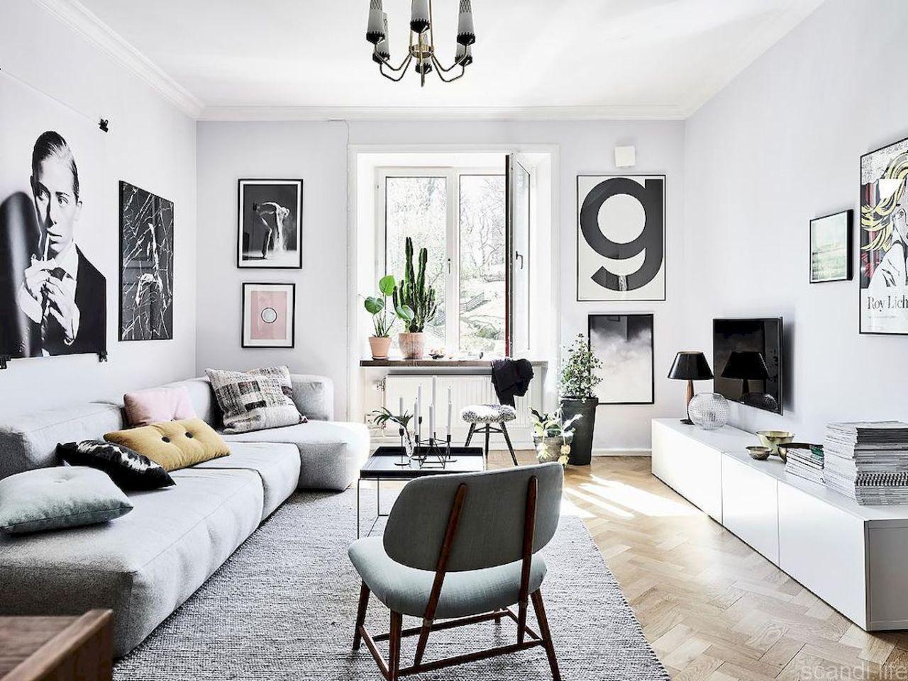İskandinav Dekorasyon Tarzı (Scandinavian-Nordic) | Oturma ... dedans Salon De Jardin Blanc Design